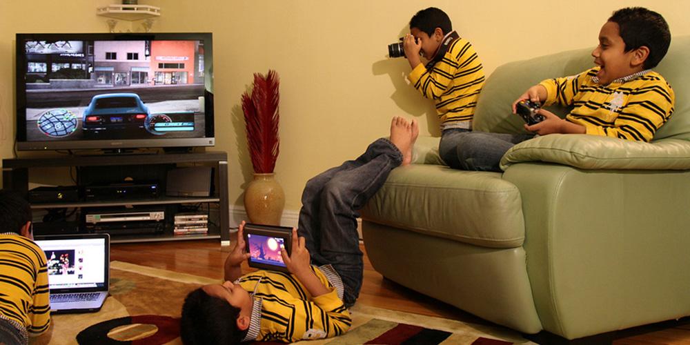 ¿Los videojuegos dañan la vista de los niños?